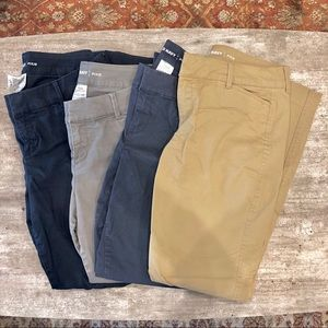 Bundle of Old Navy pixie chino pants